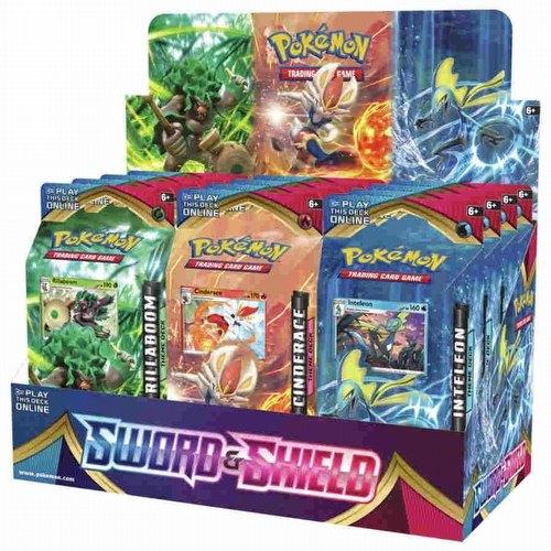 Pokemon TCG: Sword & Shield Theme Starter Deck Box