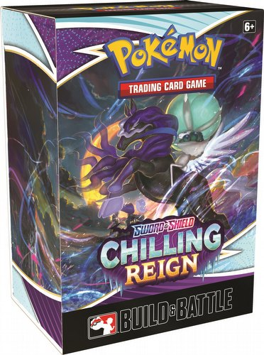 Pokemon TCG: Sword & Shield Chilling Reign Build & Battle Box