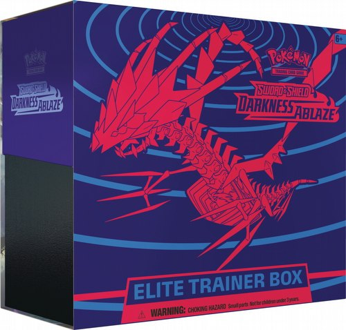 Pokemon TCG: Sword & Shield Darkness Ablaze Elite Trainer Box