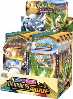 Pokemon TCG: Sword & Shield Darkness Ablaze Theme Starter Deck Box
