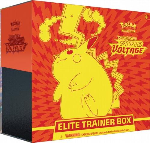 Pokemon TCG: Sword & Shield Vivid Voltage Elite Trainer Box