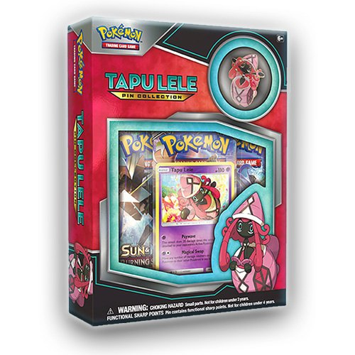 Pokemon TCG: Tapu Lele Pin Collection Box