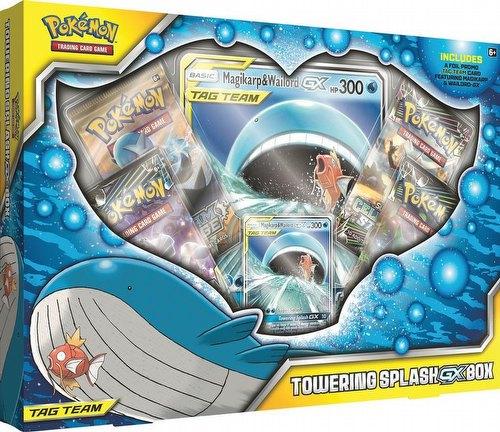 Pokemon TCG: Towering Splash-GX Box