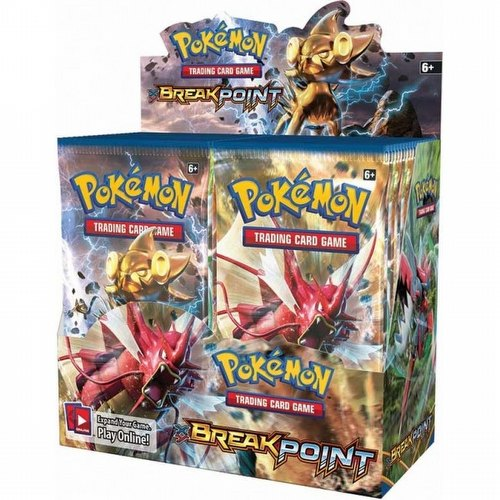 Pokemon TCG: XY BREAKpoint Booster Box Case [6 boxes]