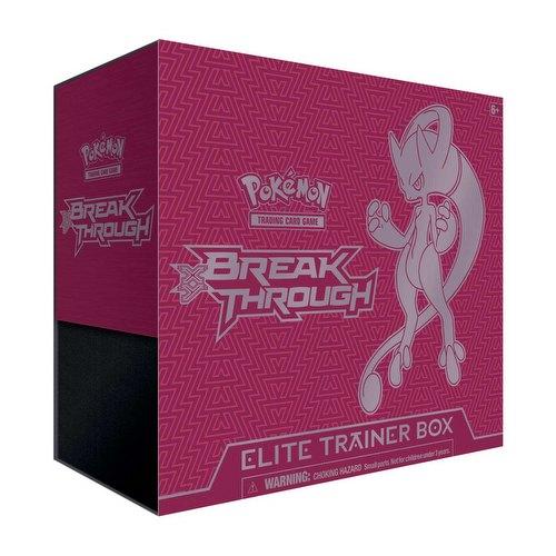Pokemon TCG: XY BREAKthrough Mewtwo Y Elite Trainer Box