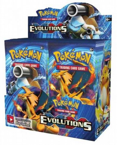 Pokemon TCG: XY Evolutions Booster Box Case [6 boxes]