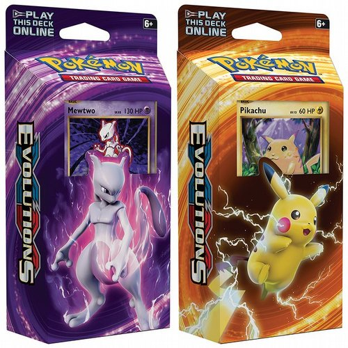 Pokemon TCG: XY Evolutions Theme Starter Deck Set [2 decks]