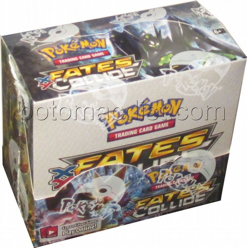 Pokemon TCG: XY Fates Collide Booster Box