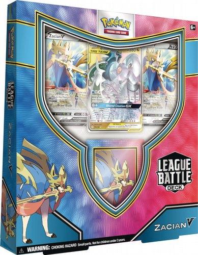 Pokemon TCG: Zacian V League Battle Deck Case [6 boxes]