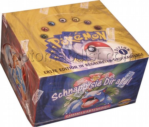 Pokemon TCG: Basic Booster Box [1st Edition/German]