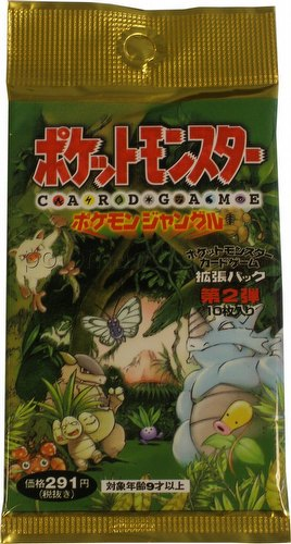 Pokemon TCG: Jungle Booster Pack [Japanese]