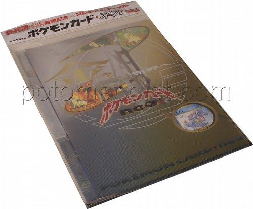 Pokemon TCG: Neo 1 Preview Set in Folder [Japanese]