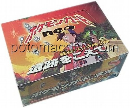 Pokemon TCG: Neo Discovery Booster Box [Japanese #8]