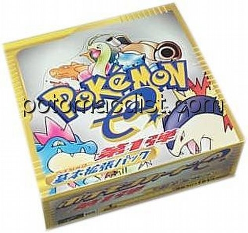 Pokemon TCG: E Booster Box [Japanese]