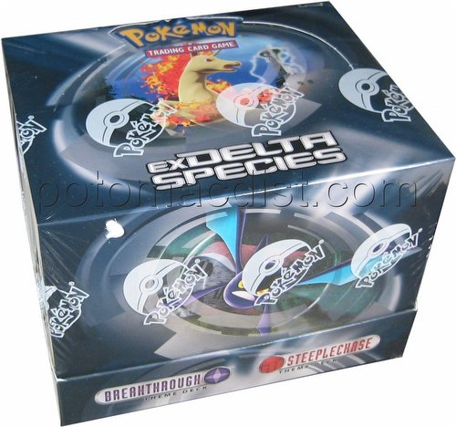 Pokemon TCG: EX Delta Species Theme Starter Deck Box