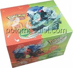 Pokemon TCG: EX FireRed/LeafGreen Theme Starter Deck Box