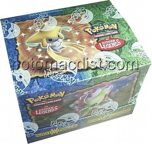 Pokemon TCG: EX Hidden Legends Theme Starter Deck Box
