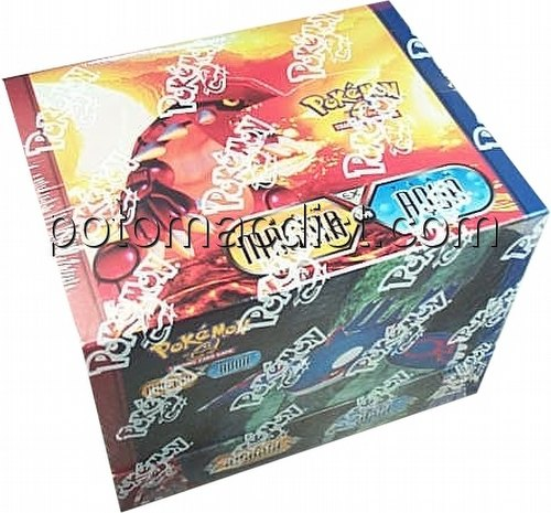 Pokemon TCG: EX Team Magma/Aqua Theme Starter Deck Box