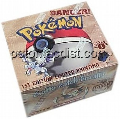 Pokemon TCG: Fossil Booster Box [1st Edition]