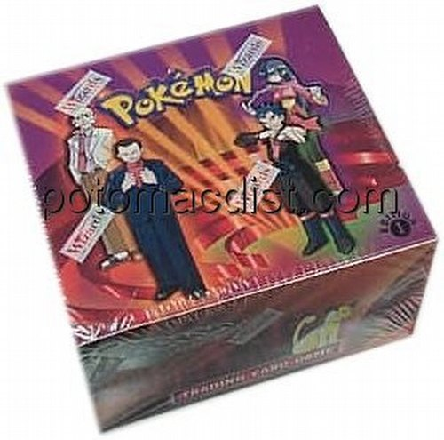 Pokemon TCG: Gym Challenge Booster Box [1st Edition]
