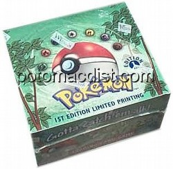 Pokemon TCG: Jungle Booster Box [1st Edition]