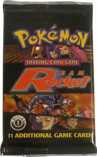 Pokemon TCG: Team Rocket Booster Pack [1st Edition]