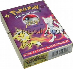 Pokemon TCG: Basic Preconstructed Zap! Starter Deck [Spanish]