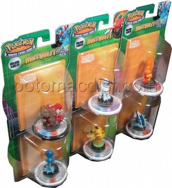 Pokemon Trading Figure Game [TFG]: Next Quest 1-Figure Booster Pack Set [6 boosters/1 of each]