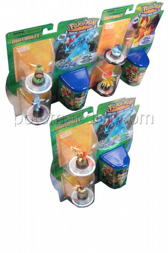 Pokemon Trading Figure Game [TFG]: Next Quest 3-Figure Booster Set [3 boosters/1 of each D&P figure]
