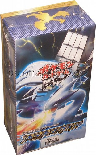 Pokemon: Plasma Gale Booster Box [Japanese/BW7/Unlimited Edition]