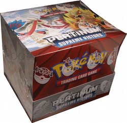 Pokemon TCG: Platinum Supreme Victors Theme Starter Deck Box