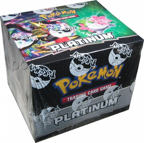 Pokemon TCG: Platinum Theme Starter Deck Box