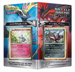Pokemon TCG: Battle Arena Decks - Xerneas Vs. Yveltal Case [8 boxes]