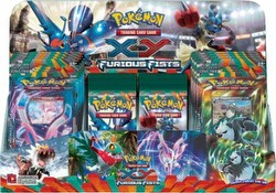 Pokemon TCG: XY Furious Fists Booster Box