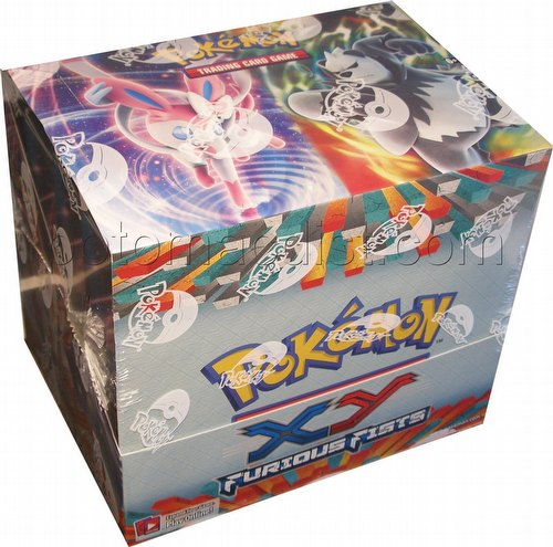 Pokemon TCG: XY Furious Fists Theme Starter Deck Box