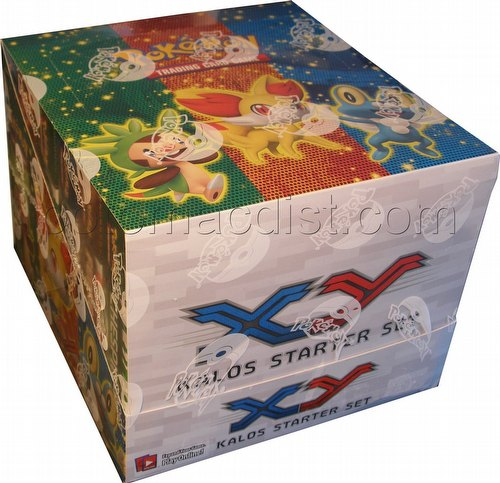 Pokemon TCG: XY Kalos Starter Set Box