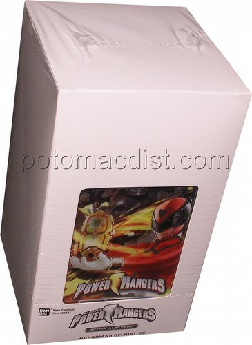 Power Rangers Action Card Game: Guardians of Justice Booster Box