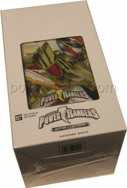 Power Rangers Action Card Game: Legends Unite Blister Booster Box