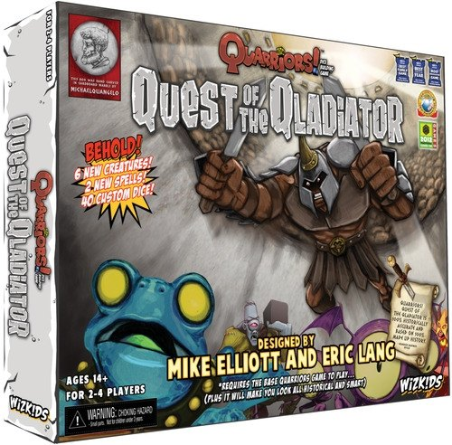 Quarriors! Dice Building Game: Quest of the Qladiator Expansion Box