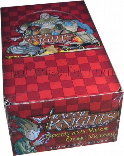 Racer Knights of Falconus Constructible Strategy Game [CSG]: Booster Box