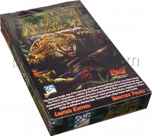 Rage: War of the Amazon Booster Box
