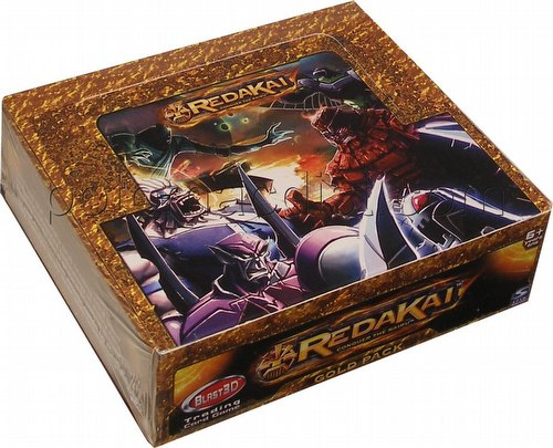 Redakai Trading Card Game [TCG]: Hobby Gold Pack Box