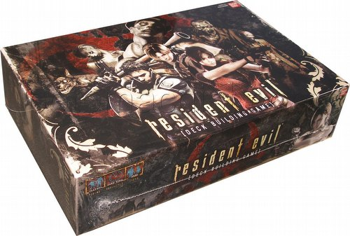 Resident Evil: Deck Building Game Box