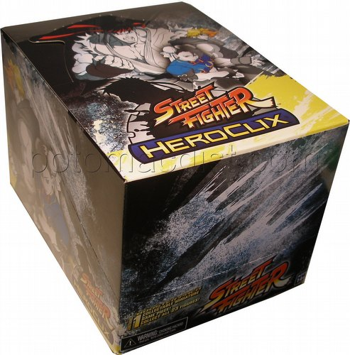 HeroClix: Street Fighter Booster Box