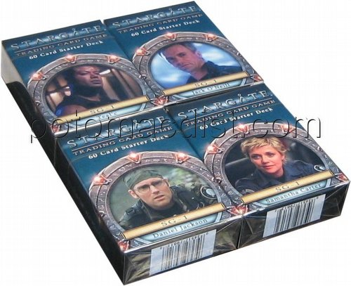 Stargate: SG-1 Starter Deck Set [4 Starter Decks]