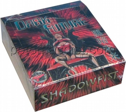 Shadowfist TCG: Dark Future Booster Box [2007 Reprint]