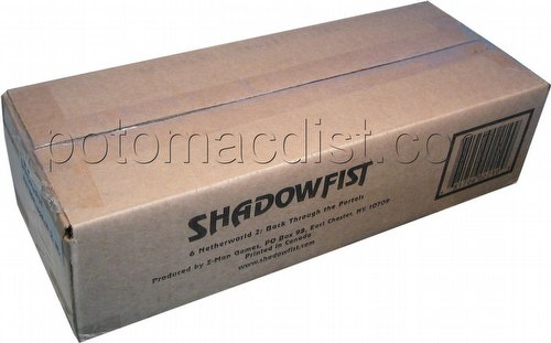 Shadowfist TCG: Netherworld 2: Back Through the Portals Booster Case [6 boxes]