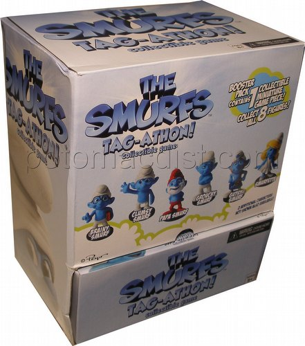 The Smurfs Tag-Athon Collectible Game Gravity Feed Box
