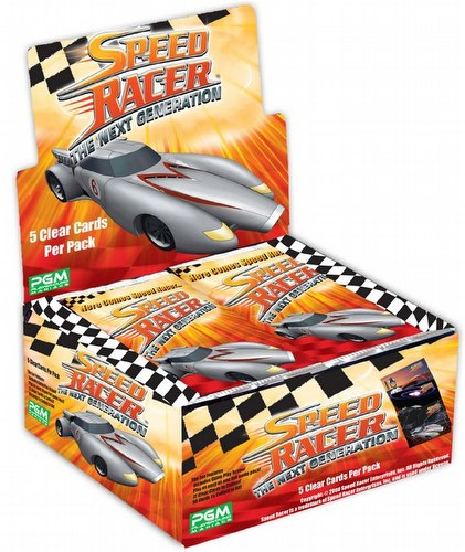 Speed Racer: The Next Generation Collectible Clear Card Game Case [10 boxes]