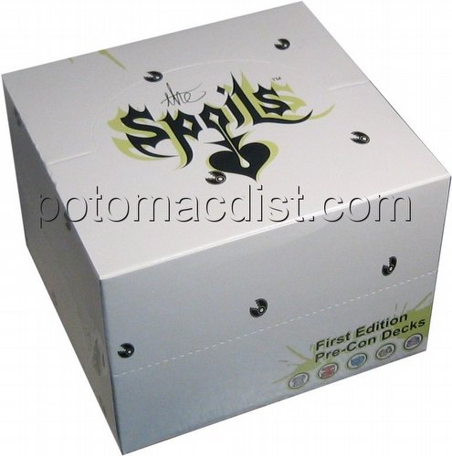 The Spoils Trading Card Game [TCG]: 1st Edition Pre-Con Trade Deck Box